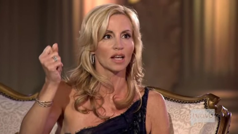 Camille Grammer at RHOBH Season 1 reunion.