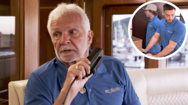 Below Deck's Captain Lee thinks trouble is brewing for Season 8 deck crew.