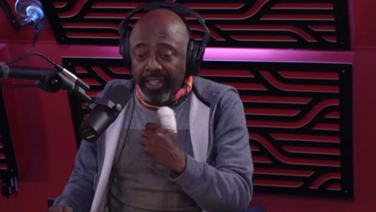 Donnell Rawlings's on Joe Rogen's podcast