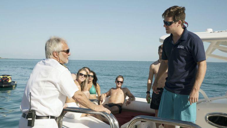 Below Deck's Captain Lee and bosun Eddie Lucas are not fans of Season 7 male crew members.