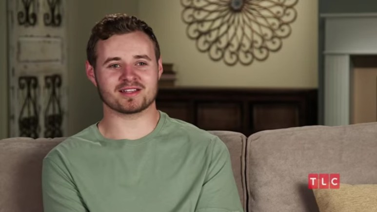 Jedidiah Duggar in a Counting On confessional.