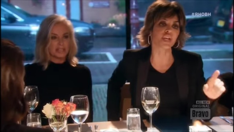 Lisa Rinna on RHOBH