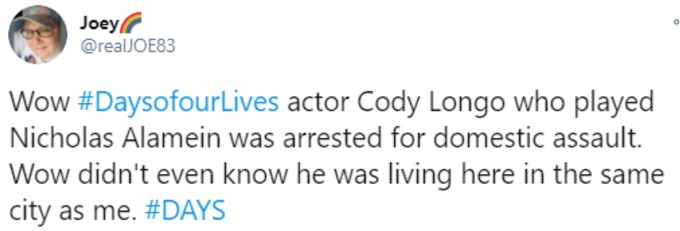Surprise at Cody Longo's arrest in Clarksville
