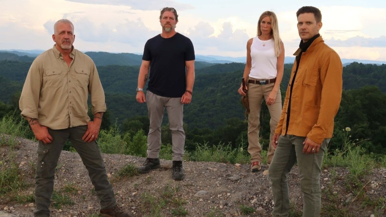 The team at Expedition Bigfoot pictured in the wilderness