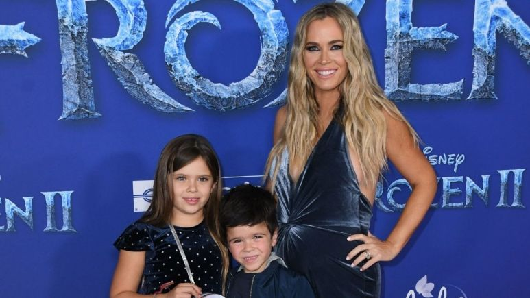 Teddi Mellencamp talks about how her kids reacted to the news of her firing from RHOBH