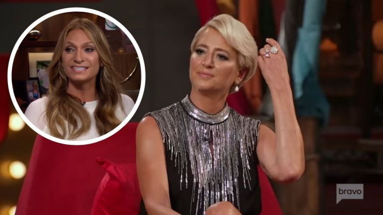 Former RHONY alum Heather Thomson talks Dorinda Medley's exit from the show