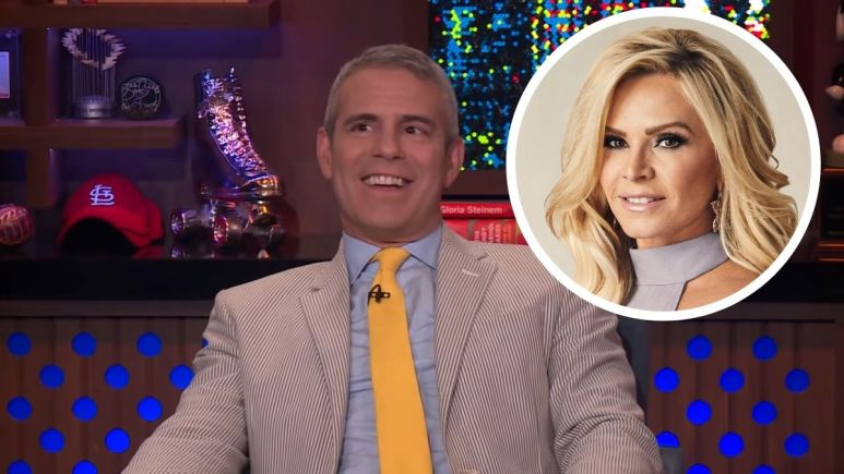 Andy Cohen says Tamra Judge made a perfect housewife