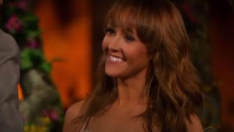 Ashley Hebert smiling