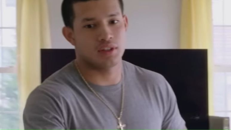 Javi Marroquin during an episode of Teen Mom 2