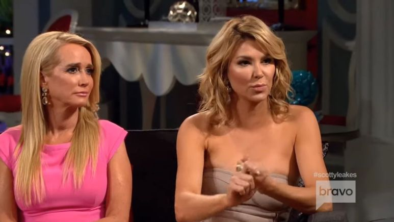 Sources allege that friends and former RHOBH alums Kim Richards and Brandi Glanville have hooked up