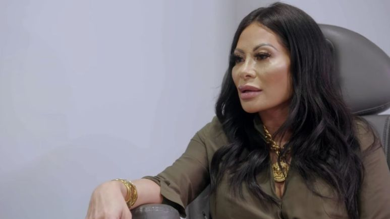 Jen Shah during an episode of RHOSLC