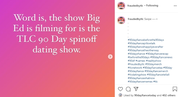 90 Day Fiance spoilers claim Big Ed Brown is filming for 90 Day Fiance again
