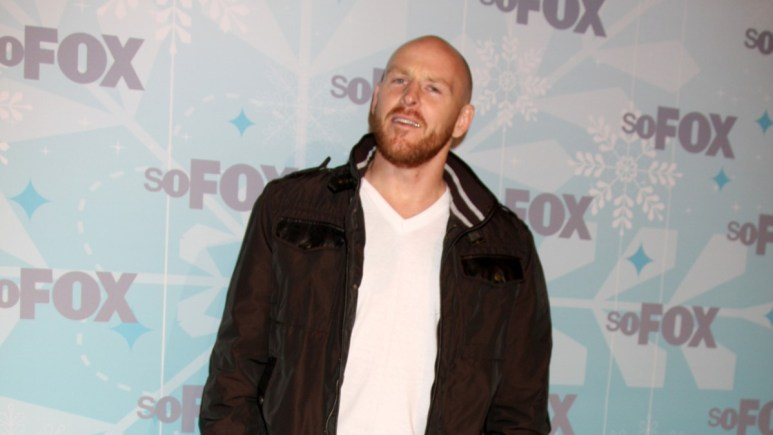 Jason Ellis on the red carpet