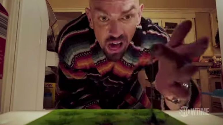 Kev finds his weed safe raided on Shameless