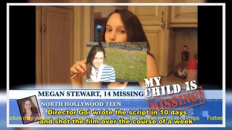 Megan Is Missing looks real but it's fiction
