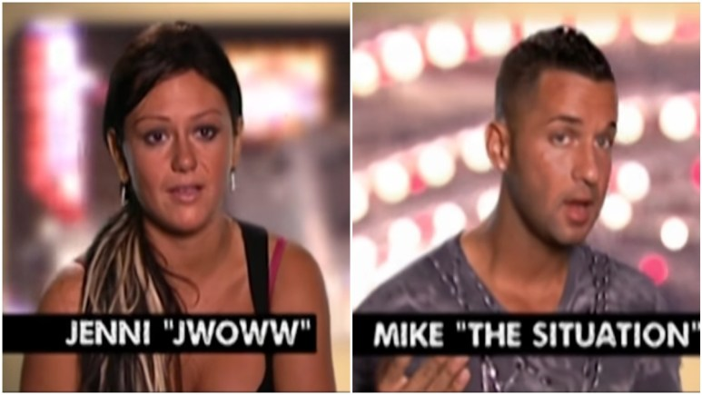JWOWW punches Mike in the face after he gets her kicked out of the club in Atlantic City
