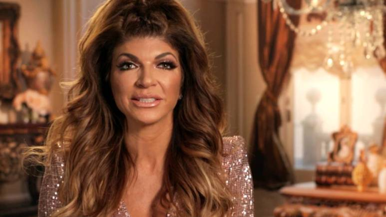 Teresa Giudice speaks in a confessional interview.