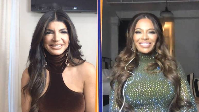 Teresa Giudice and Dolores Cantania partake in a virtual interview for WWHL.