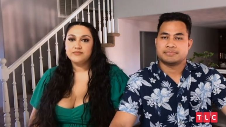 90 Day Fiance couple Kalani and Asuelu