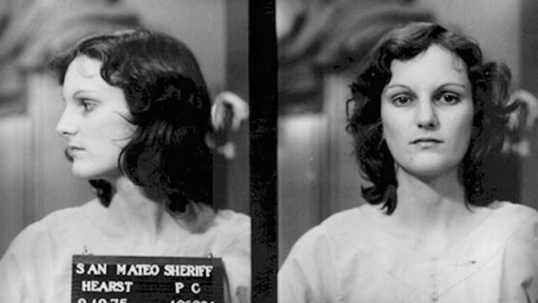 Mugshot of Patty Hearst