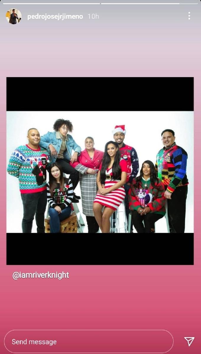 The Family Chantel Christmas Photo