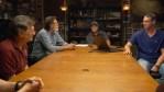 The team in the Oak Island War Room
