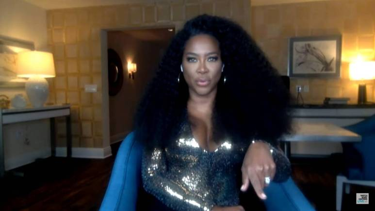 Kenya Moore appears on Watch What Happens Live.