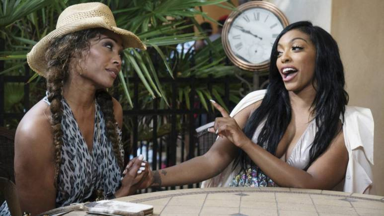 Porsha reveals to her costar Cynthia Bailey that she wants to be a mother while filming RHOA Season 9.