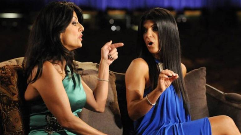Teresa Giudice fights with her cousin Kathy. Teresa said her family coming on the show behind her back was a betrayal.
