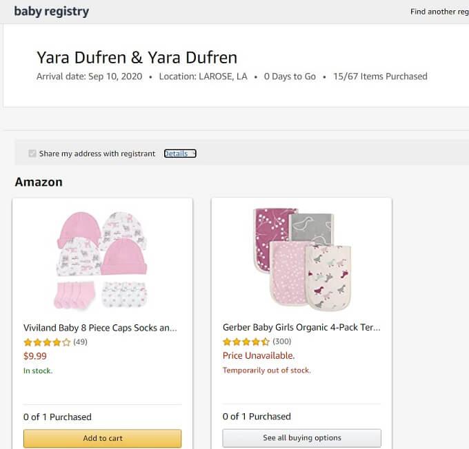 90 Day Fiance: Yara Zaya - Baby Registry
