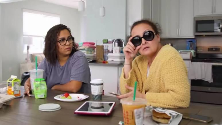 Briana and Roxanne DeJesus on Teen Mom 2