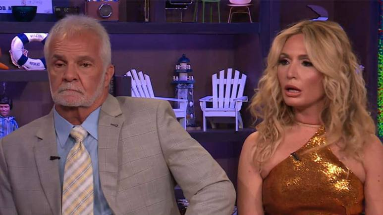Kate Chastain talks Captain Lee Rosbach's signature anger level tell on Below Deck.