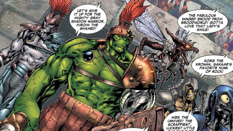 Hulk in Planet Hulk