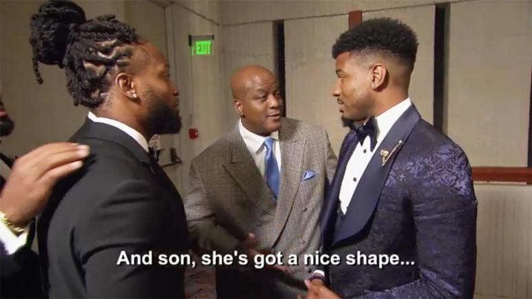 MAFS Season 12 Chris's dad telling Chris Paige has a nice body shape.