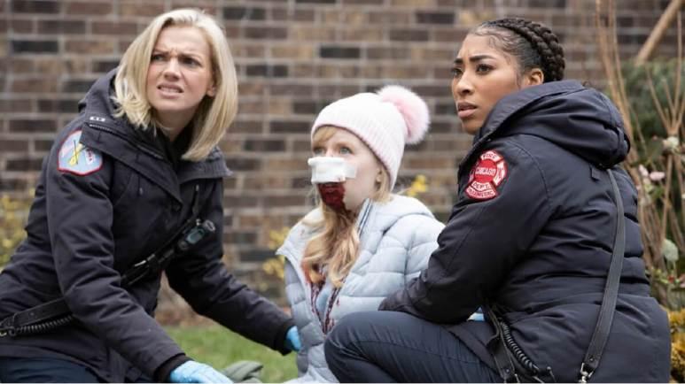 Kara Killmer as Sylvie Brett, Adriyan Rae as Gianna Mackey – Pic by: Adrian S. Burrows Sr./NBC
