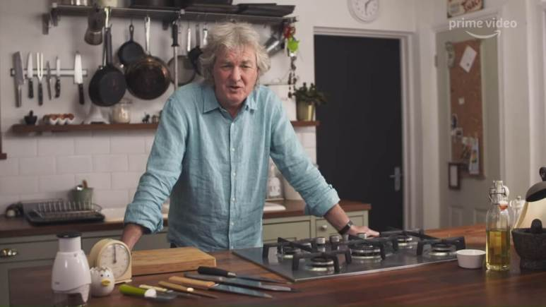 James May makes cooking relatable on Oh Cook!