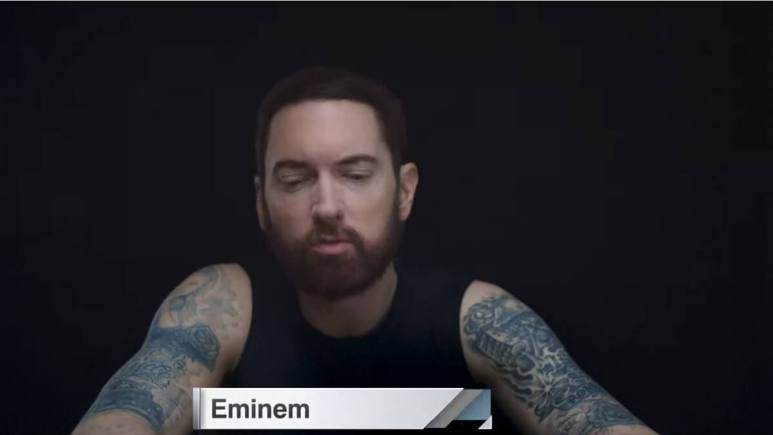 Marshall Mathers, aka Rapper Eminem