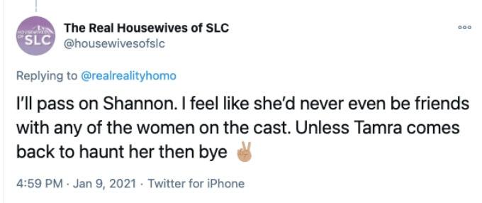 "Twitter user says ""no"" to Shannon Beador's return to RHOC"