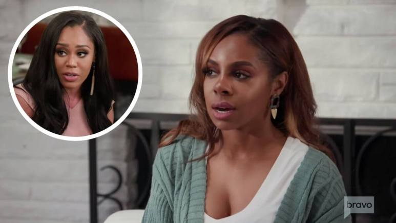 RHOP star Candiace Dillard says Monique Samuels wanted someone she could fight and get away with