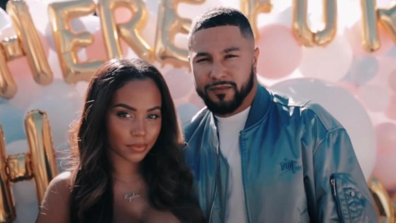 cheyenne floyd shares gender reveal party video challenge stars react