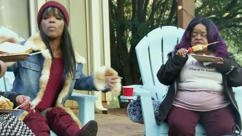Abira calls out Ms Juicy during a housewarming party on Little Women Atlanta.