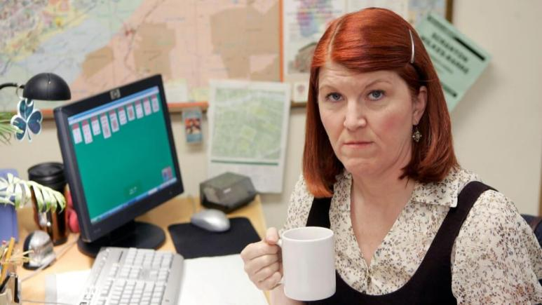 Kate Flannery as Meredith Palmer in The Office