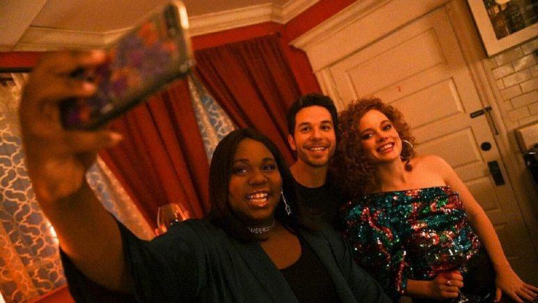 Alex Newell as Mo, Skylar Austin as Max, Jane Levy as Zoey Clarke — Pic by: Sergei Bachlakov/NBC/Lionsgate