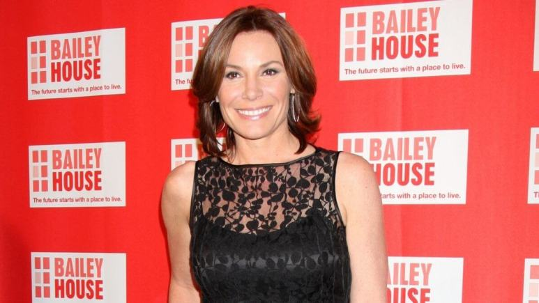 RHONY star Luann de Lesseps poses on a red carpet.