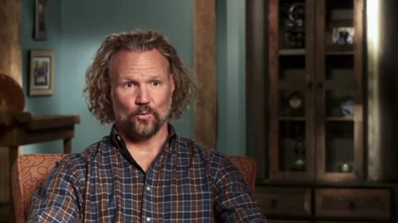 Kody Brown in a Sister Wives confessional.