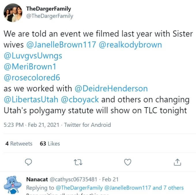 The Darger Family on Twitter