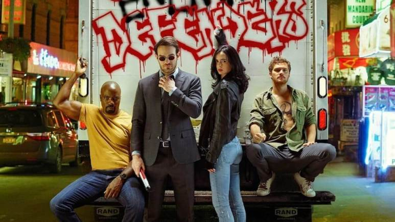 The Defenders cast.