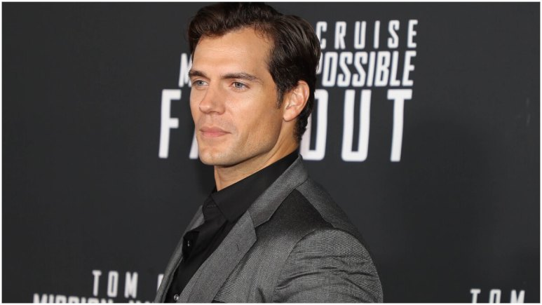 """Henry Cavill at the premiere of """"Mission: Impossible Fallout"""" in New York City"""