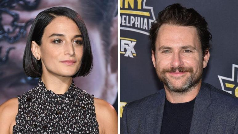 Image of Jenny Slate and Charlie Day.