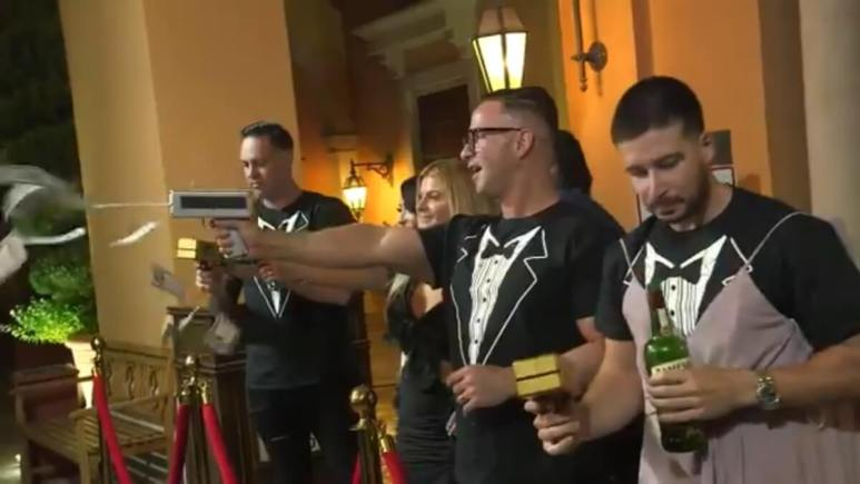 Vinny goes all out for Angelina's wedding redo on Jersey Shore Family Vacation
